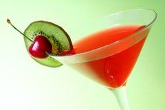 De Cocktail van Kerstmis stock foto
