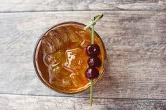 De cocktail van Manhattan Stock Fotografie