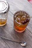 De cocktail van Manhattan Royalty-vrije Stock Afbeeldingen
