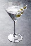 De cocktail van martini Stock Afbeelding