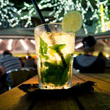 De Cocktail van Mojito Stock Fotografie