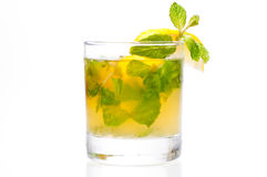 De cocktail van Mojito Stock Afbeelding