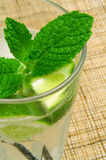 De Cocktail van Mojito Stock Foto