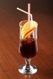 De Cocktail van Negroni stock afbeeldingen