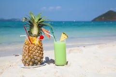 De cocktail van Pinaapple Royalty-vrije Stock Foto