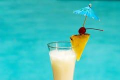 De cocktail van Poolside stock foto's