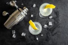 De Cocktail van Vespermartini royalty-vrije stock afbeeldingen