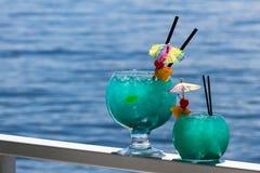 De cocktail van de vissenkom royalty-vrije stock foto's