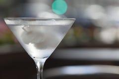 De cocktail van wodkamartini Stock Afbeeldingen