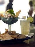 De Cocktail van zeevruchten Stock Afbeeldingen