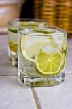 De cocktaildrank van de citroen Stock Foto's
