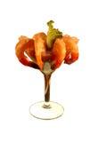 De cocktailisolatie van garnalen Royalty-vrije Stock Fotografie