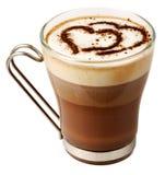De cocktailkop van de koffie stock fotografie