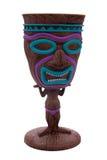 De cocktailkop van Tiki Royalty-vrije Stock Foto's