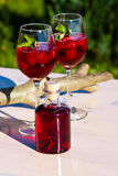 De Cocktails van de aardbei Royalty-vrije Stock Fotografie