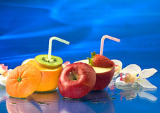 De cocktails van Frucht Stock Afbeelding