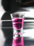 De cocktailschot van de kers Stock Afbeeldingen
