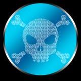 De Code van de schedel Royalty-vrije Stock Fotografie