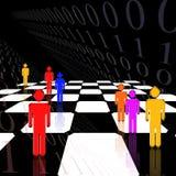 De Code van de strategie vector illustratie