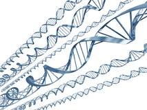 De code van DNA Stock Afbeelding