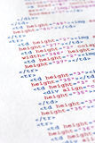 De code van het programma Royalty-vrije Stock Fotografie