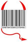 De codestaaf van de duivel Royalty-vrije Stock Afbeeldingen