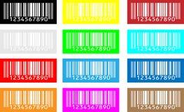 De codigo de barras Imágenes de archivo libres de regalías