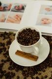 De Coffe de haricot toujours la vie Photographie stock