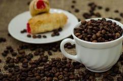 De Coffe do feijão vida ainda Imagem de Stock