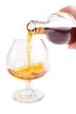 De cognac giet stock afbeeldingen