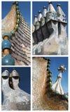 De collage van Batllo van Casa Stock Fotografie
