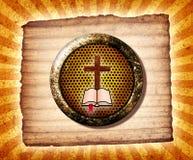 De Collage van de bijbel Stock Afbeelding