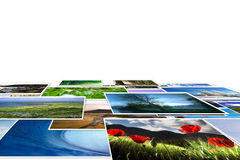 De collage van de foto Royalty-vrije Stock Afbeeldingen