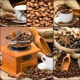 De collage van de koffie Royalty-vrije Stock Fotografie