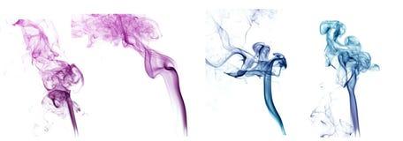 De Collage van de rook stock afbeelding