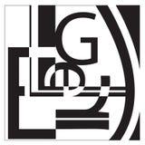 De Collage van de typografie Royalty-vrije Stock Afbeeldingen