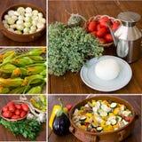De collage van groenten Royalty-vrije Stock Fotografie