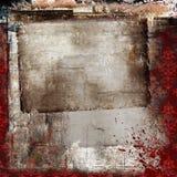De collage van Grunge Stock Afbeelding
