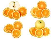 De collage van het fruit Royalty-vrije Stock Foto's