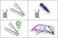 De collage van het onderwijs Royalty-vrije Stock Fotografie