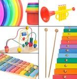 De collage van het speelgoed Royalty-vrije Stock Fotografie