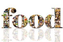De Collage van het voedsel Royalty-vrije Stock Afbeelding