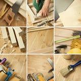 De collage van hulpmiddelen Stock Foto