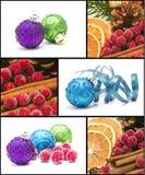 De collage van Kerstmis Royalty-vrije Stock Foto's