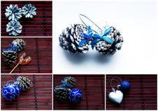 De collage van Kerstmis Stock Afbeelding