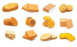 De collage van koekjes Royalty-vrije Stock Afbeeldingen