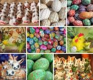 De collage van Pasen stock foto