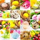 De collage van Pasen Royalty-vrije Stock Fotografie