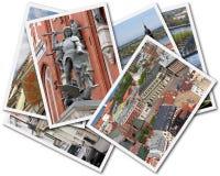 De Collage van Riga Stock Afbeelding