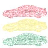 De collage van Word Royalty-vrije Stock Afbeelding